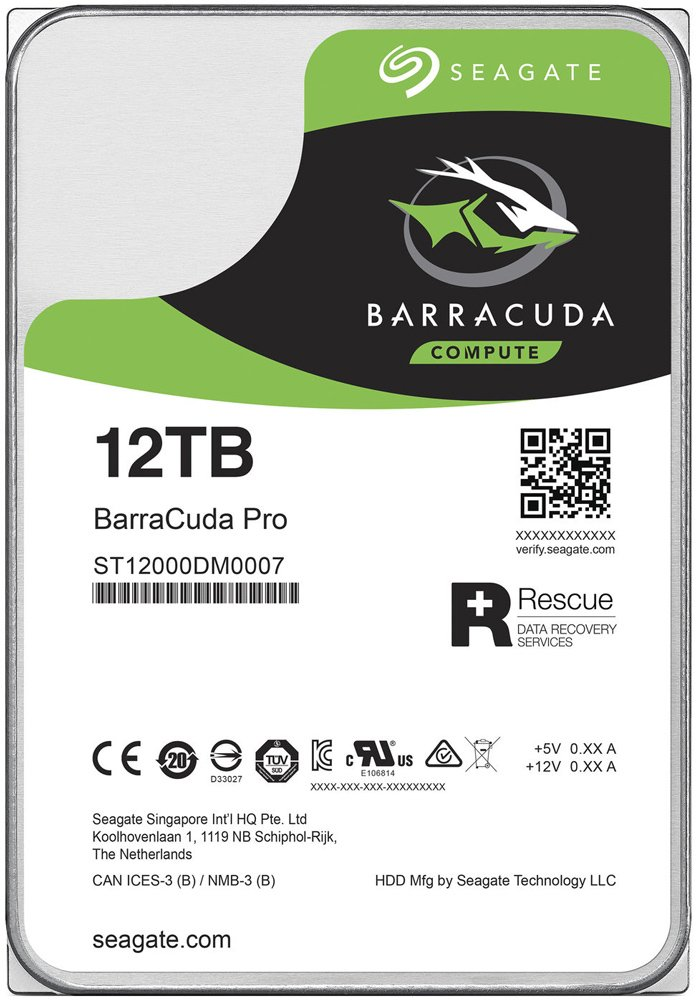 Жесткий диск Seagate Barracuda Pro (ST12000DM0007) 12000Gb фото