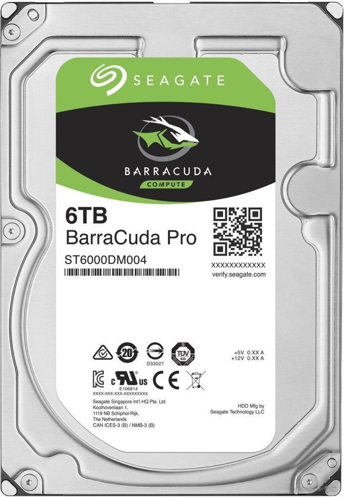 Жесткий диск Seagate Barracuda Pro (ST6000DM004) 6000Gb