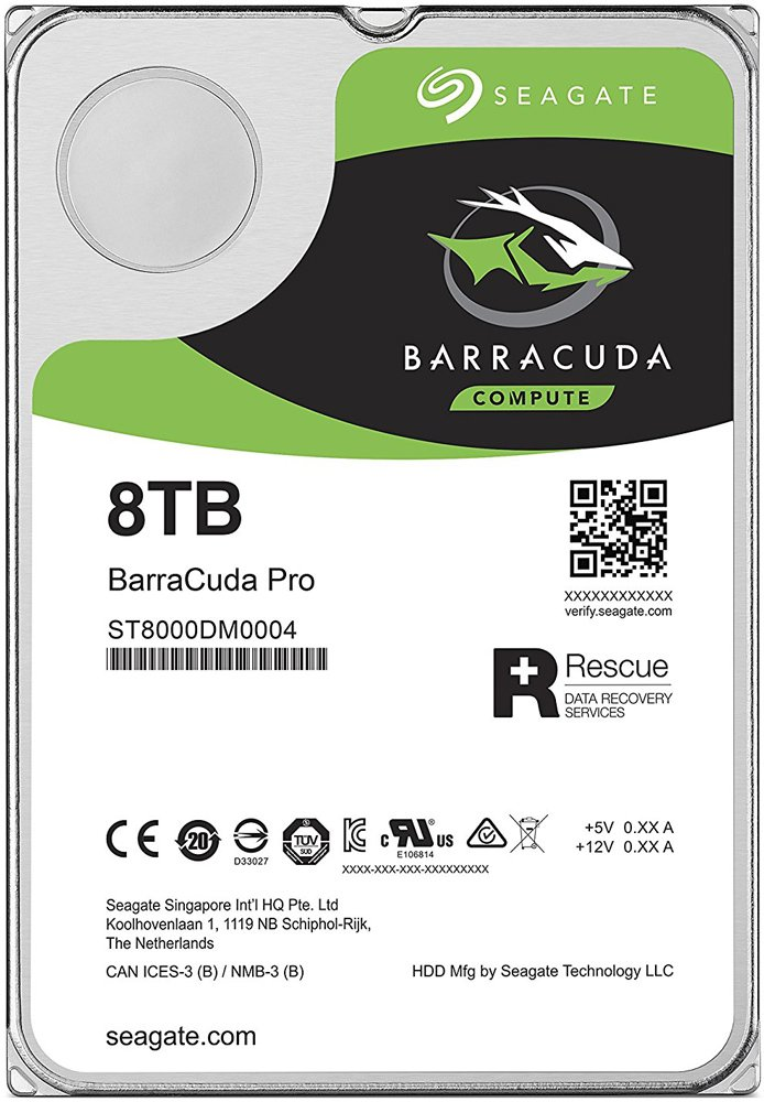 Жесткий диск Seagate Barracuda Pro (ST8000DM0004) 8000Gb фото