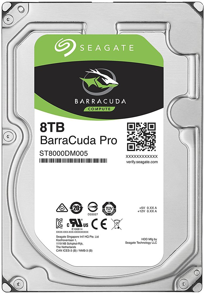 Жесткий диск Seagate Barracuda Pro (ST8000DM005) 8000Gb