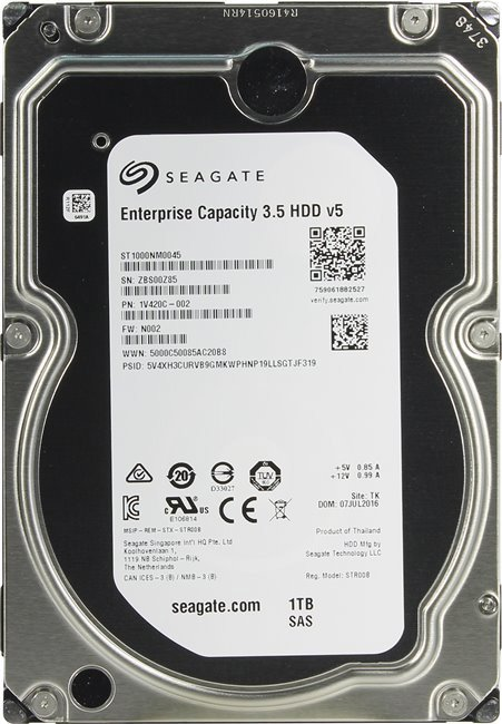 Жесткий диск Seagate Enterprise Capacity (ST1000NM0045) 1000 Gb