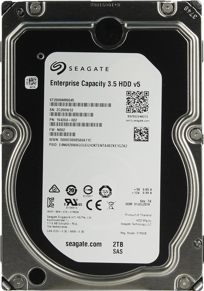 Жесткий диск Seagate Enterprise Capacity (ST2000NM0045) 2000 Gb