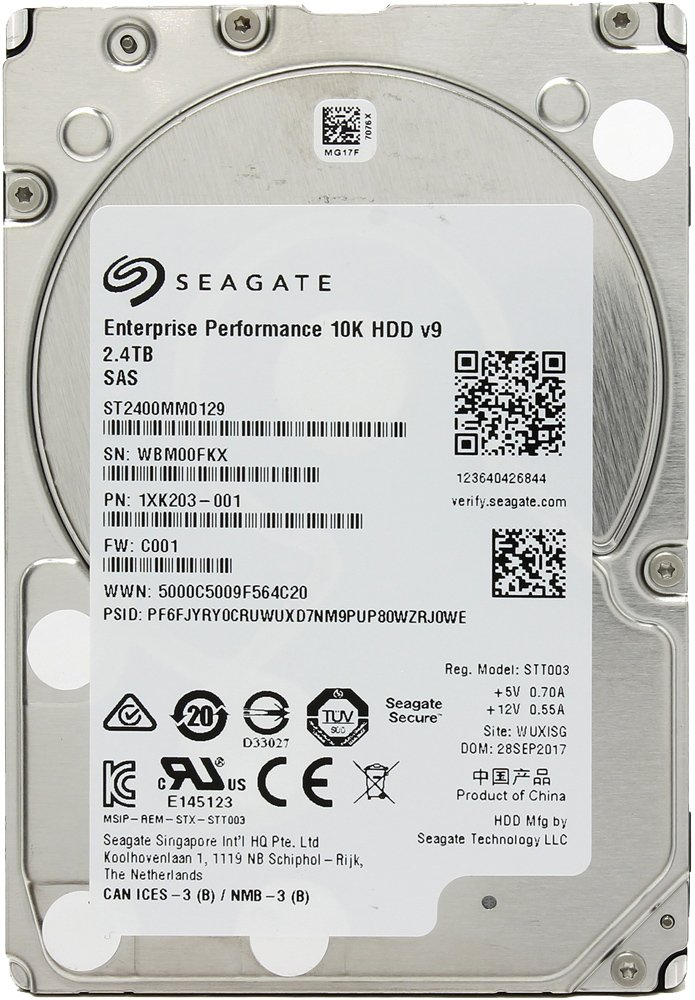 Жесткий диск Seagate Enterprise Performance 10K (ST2400MM0129) 2400Gb фото