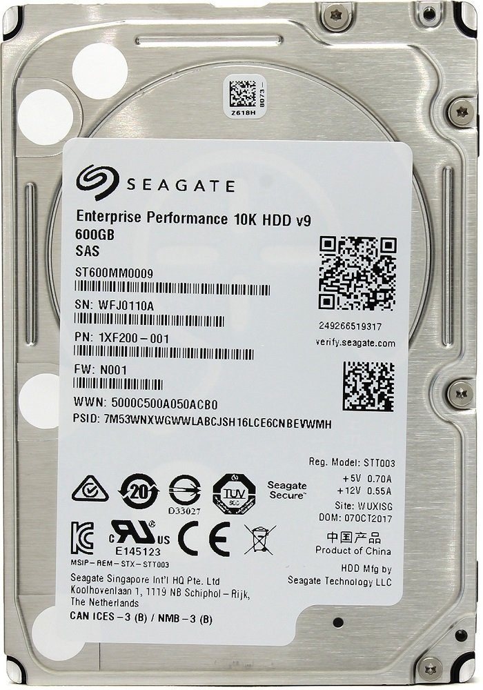 Жесткий диск Seagate Enterprise Performance 10K (ST600MM0009) 600Gb фото