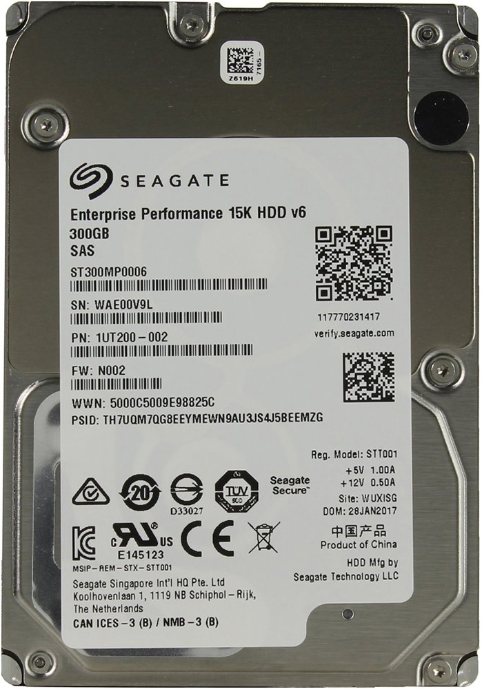 Жесткий диск Seagate Enterprise Performance 15K.6 (ST300MP0006) 300Gb