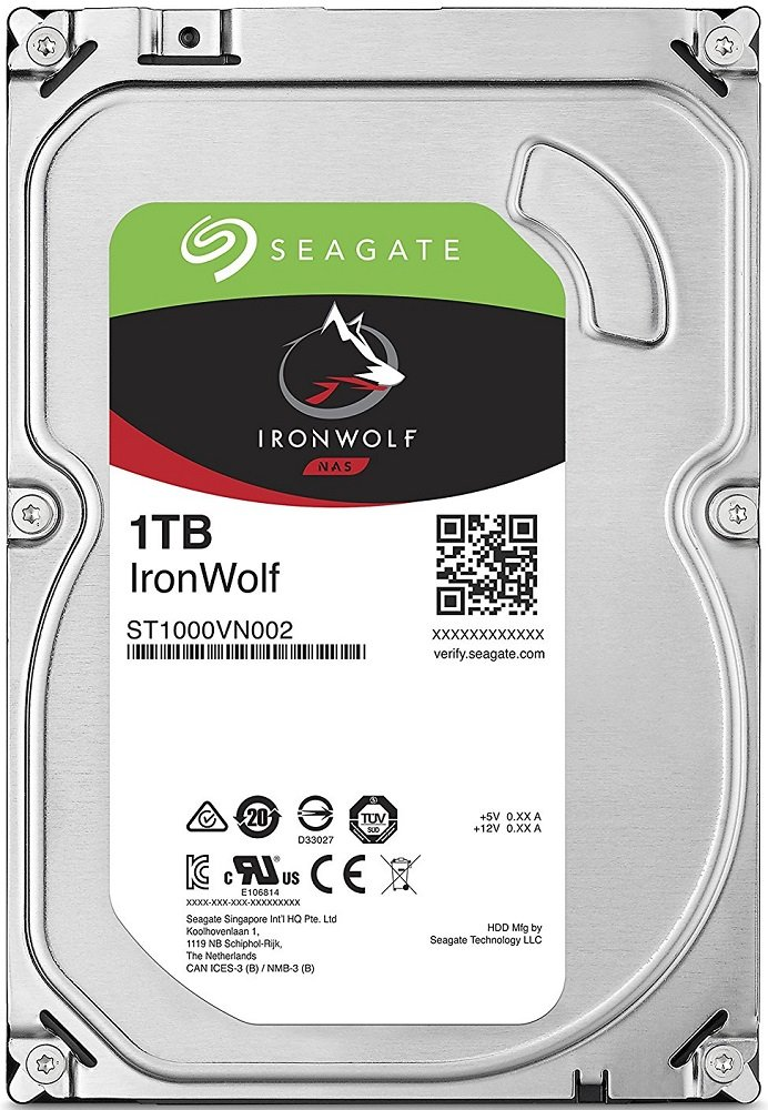Жесткий диск Seagate Ironwolf (ST1000VN002) 1000Gb