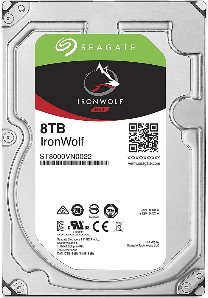 Жесткий диск Seagate Ironwolf (ST8000VN0022) 8000Gb