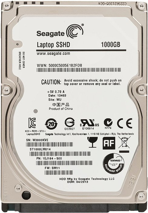 Жесткий диск Seagate Laptop SSHD (ST1000LM014) 1000 Gb фото