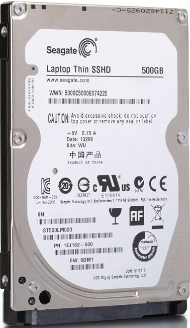 Жесткий диск Seagate Laptop SSHD (ST500LM000) 500 Gb фото