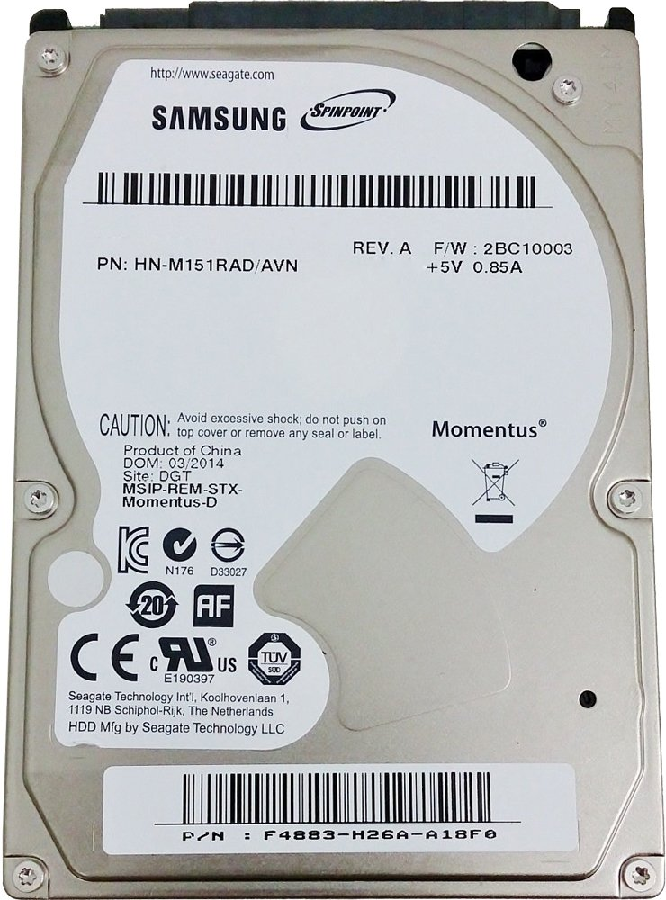 Жесткий диск Seagate Spinpoint M9T (ST1500LM006) 1500 Gb