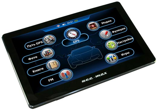 GPS-навигатор SeeMax navi E710 HD 4GB