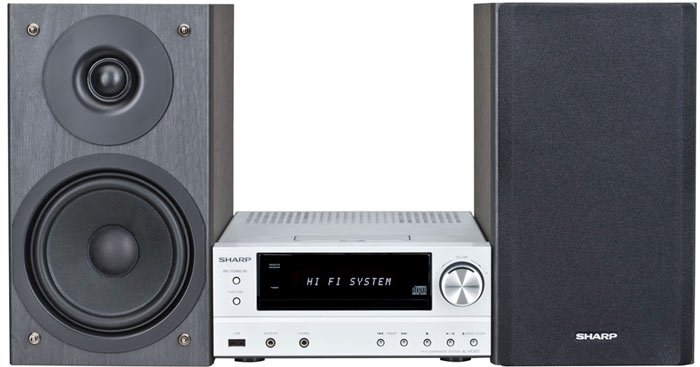 Микросистема Sharp XL-HF301PH(S)