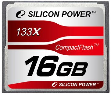 Карта памяти Silicon Power 133X Professional Compact Flash Card 16GB