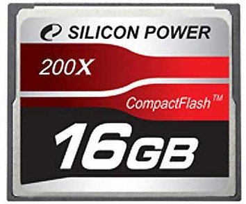 Карта памяти Silicon Power 200X Professional Compact Flash Card 16GB