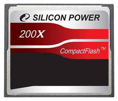 ����� ������ Silicon Power 200X Professional Compact Flash Card 4GB