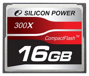 Карта памяти Silicon Power 300X Professional Compact Flash Card 16GB
