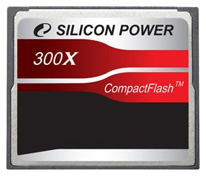 Карта памяти Silicon Power 300X Professional Compact Flash Card 2GB