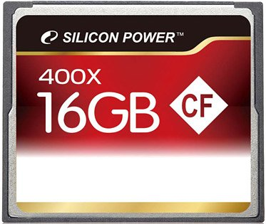 Карта памяти Silicon Power 400X Professional Compact Flash Card 16GB