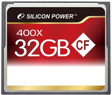 Карта памяти Silicon Power 400X Professional Compact Flash Card 32GB