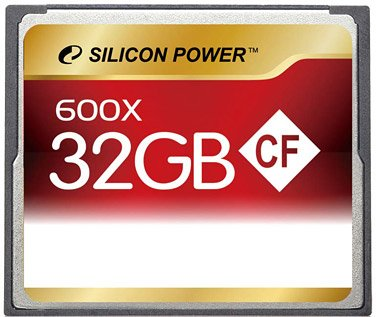 Карта памяти Silicon Power 600X Professional Compact Flash Card 32GB