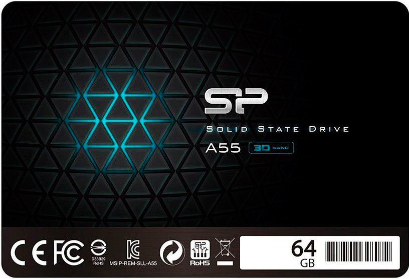 Жесткий диск SSD Silicon Power Ace A55 (SP064GBSS3A55S25) 64Gb фото