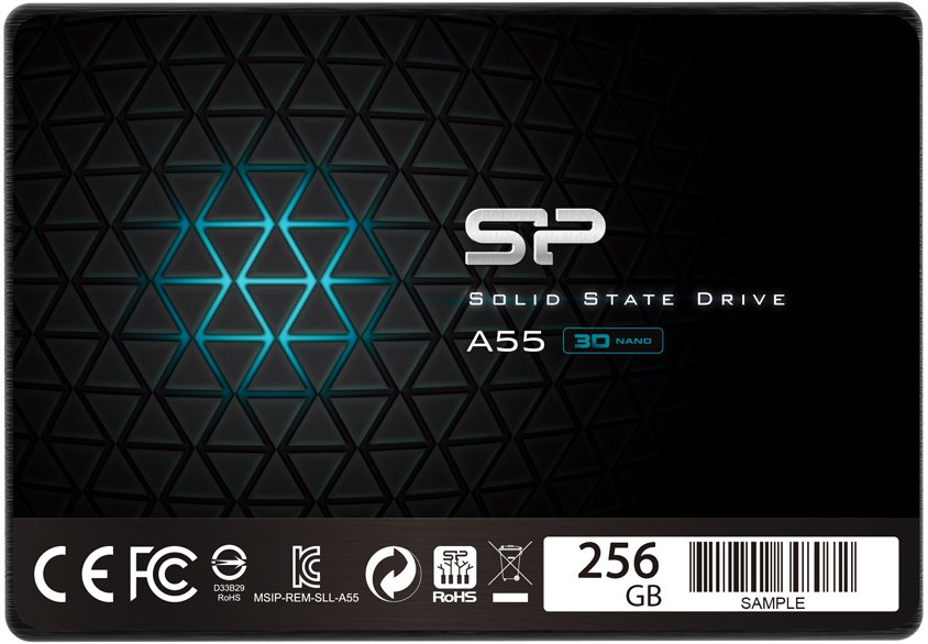 Жесткий диск SSD Silicon Power Ace A55 (SP256GBSS3A55S25) 256Gb фото