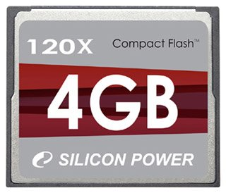 ����� ������ Silicon Power CompactFlash Ultima II 4Gb 120X