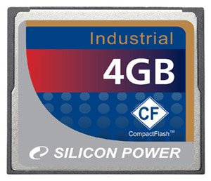 Карта памяти Silicon Power Industrial CF card 4GB
