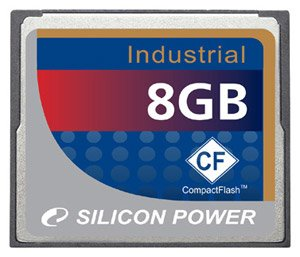 ����� ������ Silicon Power Industrial CF card 8GB