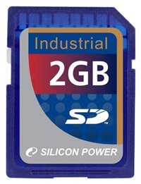 Карта памяти Silicon Power Industrial SD Card 2GB