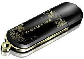 USB-���� ���������� Silicon Power LuxMini 323 4GB