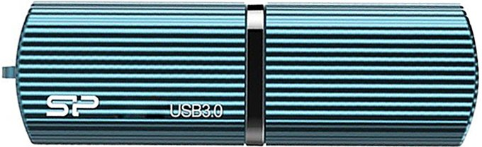 USB-флэш накопитель Silicon Power Marvel M50 Blue 32GB (SP032GBUF3M50V1B)