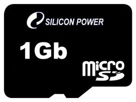 Карта памяти Silicon Power MicroSD Card 1 GB фото
