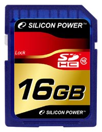 Карта памяти Silicon Power SDHC Class10 16 GB
