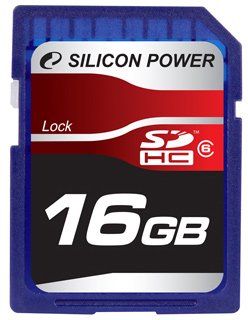 ����� ������ Silicon Power SDHC Class6 16GB