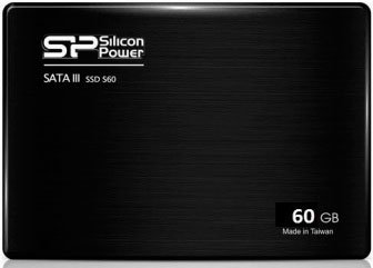 Жесткий диск SSD Silicon Power Slim S60 (SP060GBSS3S60S25) 60 Gb