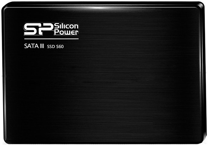 Жесткий диск SSD Silicon Power Slim S60 (SP120GBSS3S60S25) 120 Gb