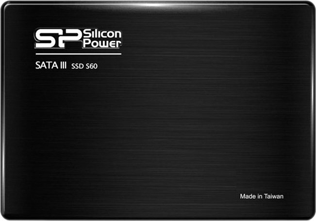Жесткий диск SSD Silicon Power Slim S60 (SP480GBSS3S60S25) 480Gb фото