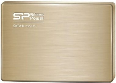 Жесткий диск SSD Silicon Power Slim S70 (SP120GBSS3S70S25) 120 Gb фото