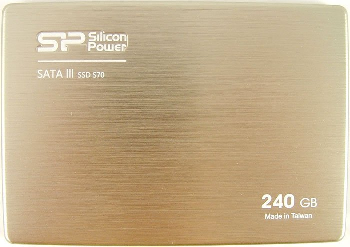 Жесткий диск SSD Silicon Power Slim S70 (SP240GBSS3S70S25) 240 Gb фото
