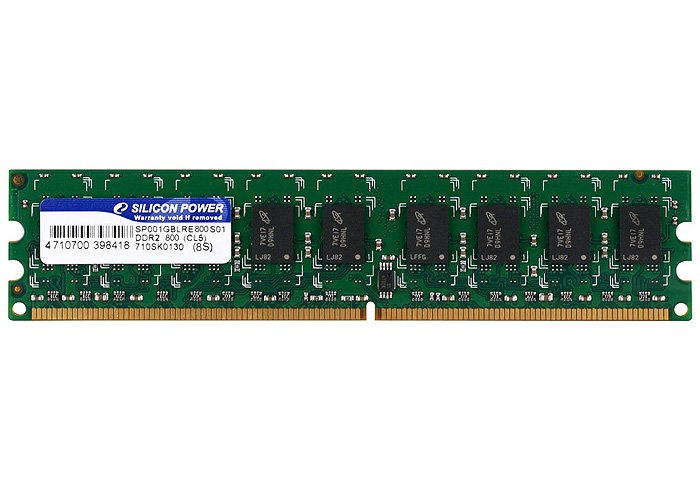 ������ ������ Silicon Power SP002GBLRE800S01 DDR2 PC6400 2Gb