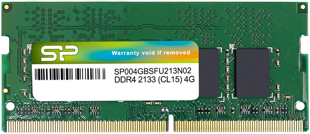 Модуль памяти Silicon Power SP004GBSFU213N02 DDR4 PC4-17000 4Gb