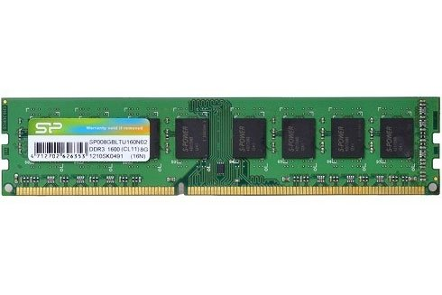 Модуль памяти Silicon Power SP008GBLTU160N02 DDR3 PC3-12800 8Gb фото