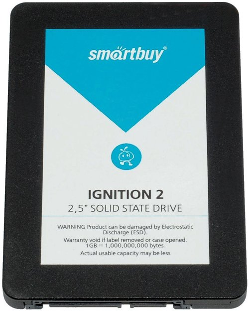 Жесткий диск SSD SmartBuy Ignition2 (SB60GB-IGNT-25SAT3) 60 Gb фото