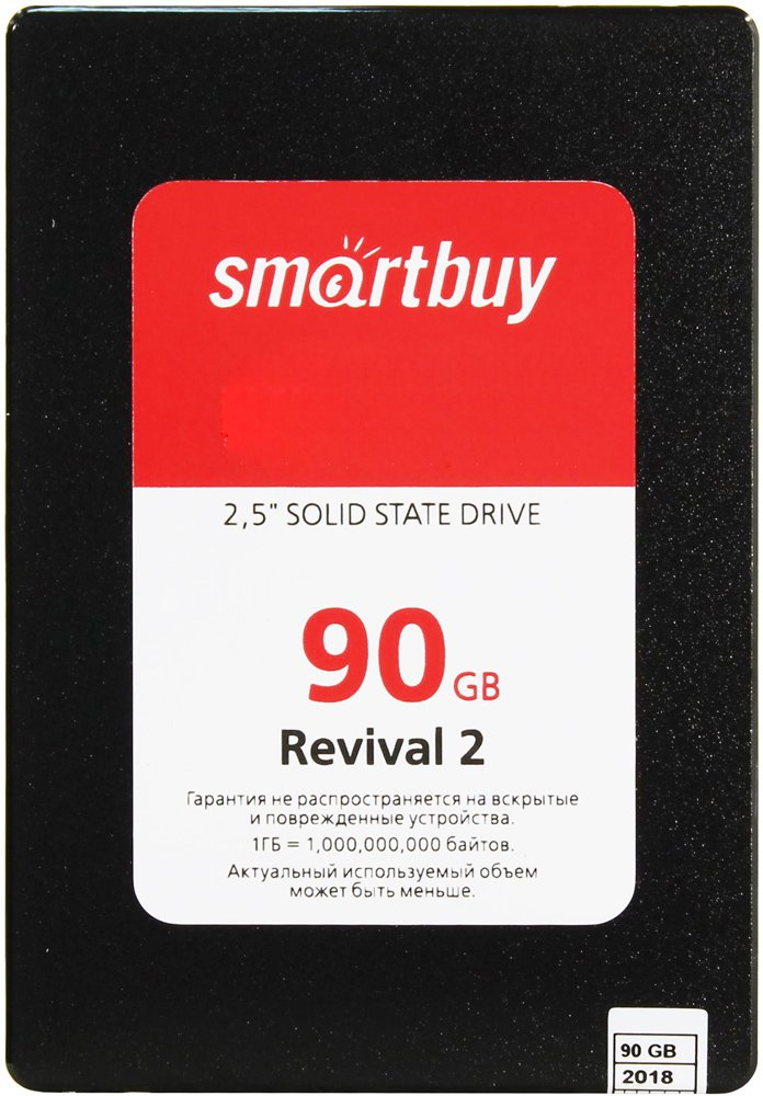 Жесткий диск SSD Smart Buy Revival 2 (SB090GB-RVVL2-25SAT3) 90GB фото