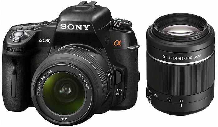 Фотоаппарат Sony Alpha DSLR-A580Y