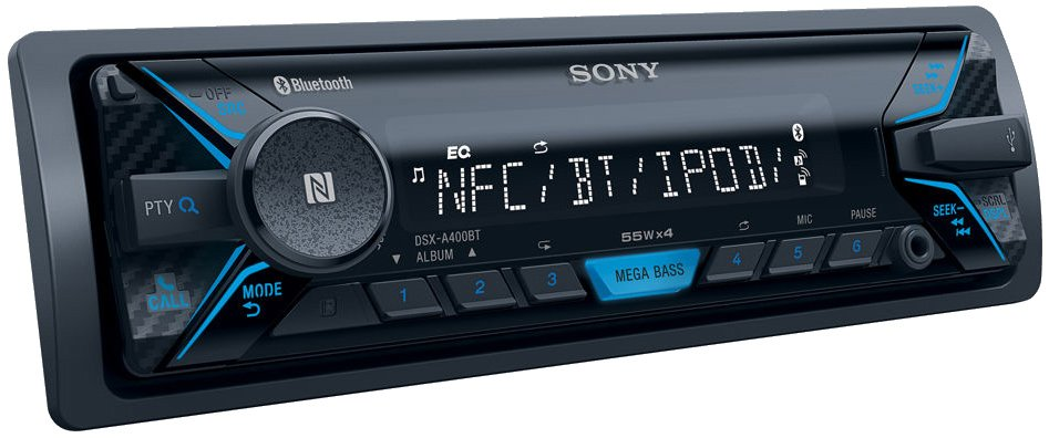 Автомагнитола Sony DSX-A400BT фото