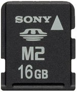 Карта памяти Sony Memory Stick M2 16GB c USB-картридером MSA16GU2