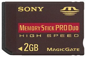 Карта памяти Sony Memory Stick Pro Duo High-speed MSXM2GN