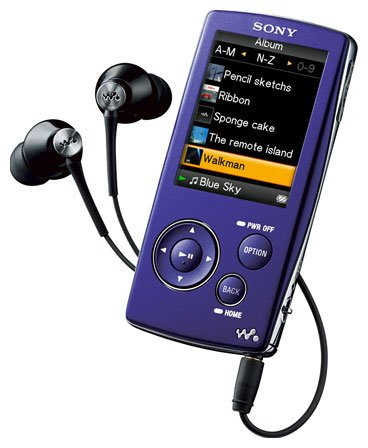 Flash - плеер Sony Walkman NW-A805V